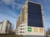 В Беларуси возвели 3 экспериментальных многоэтажных дома будущего