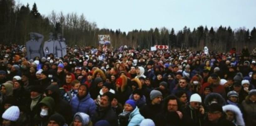 В Троицке 500 жителей митинговало на экологической акции