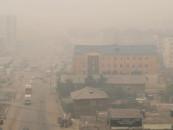 Задымление от природных пожаров является экологической угрозой