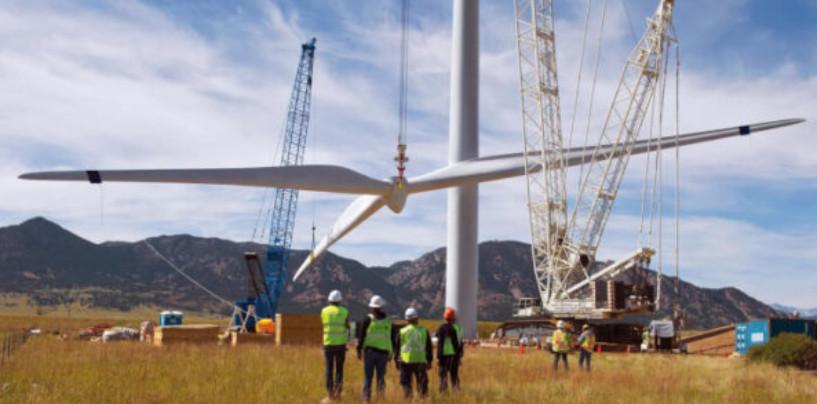 Начался первый этап строительных работ ветроэнергетического парка