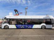 Бесшумный и экологически безопасный электробус вышел на линию в Тамбове