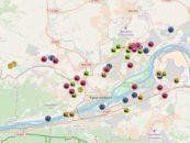 В Красноярске нанесли на карту организации, вредящие экологии и несанкционированные свалки