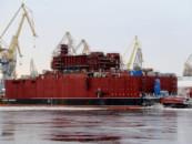 Российский корабль «Академик Ломоносов» назвали «плавучим Чернобылем»