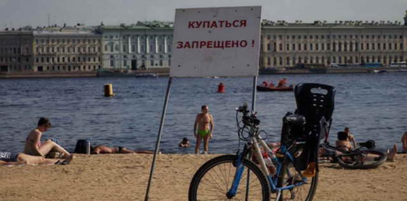 Роспотребнадзор признал все пляжи Петербурга непригодными для купания