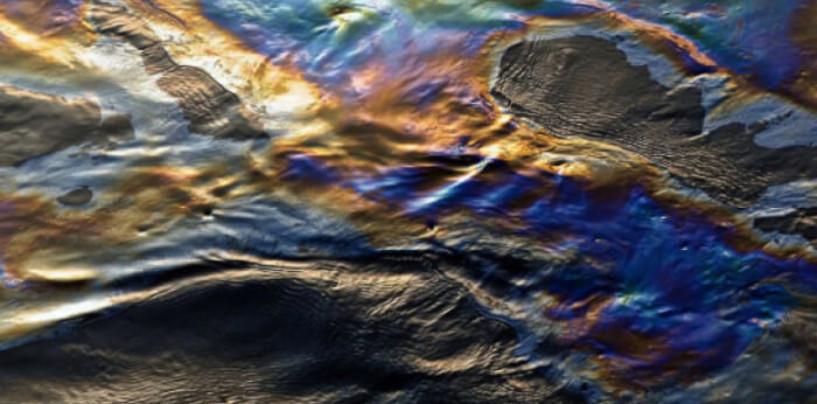 Нефтяная река ко Дню эколога