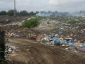 В Лопатинском районе обнаружено возгорание опасной для экологии свалки