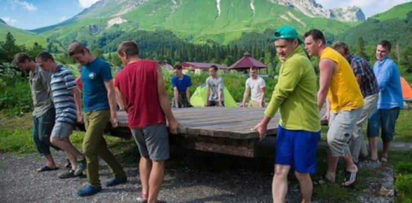 В Сочи завершилась первая смена волонтерского лагеря «Экодемия»