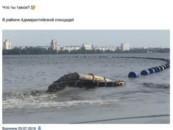 Воронежцев удивил процесс очистки водохранилища от донных отложений
