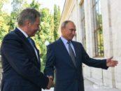Путин и Ниинисте договорились расширить сотрудничество в сфере экологии