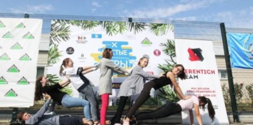 В Саранске прошли «Чистые игры»: собрано 3 тонны мусора