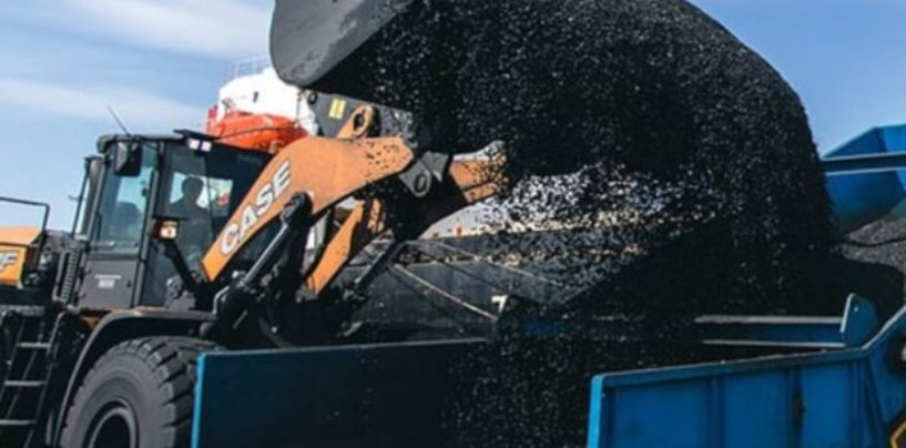 Уголь в портах спрячут за стенами. Стивидоры тратят миллиарды на установку защитных сооружений