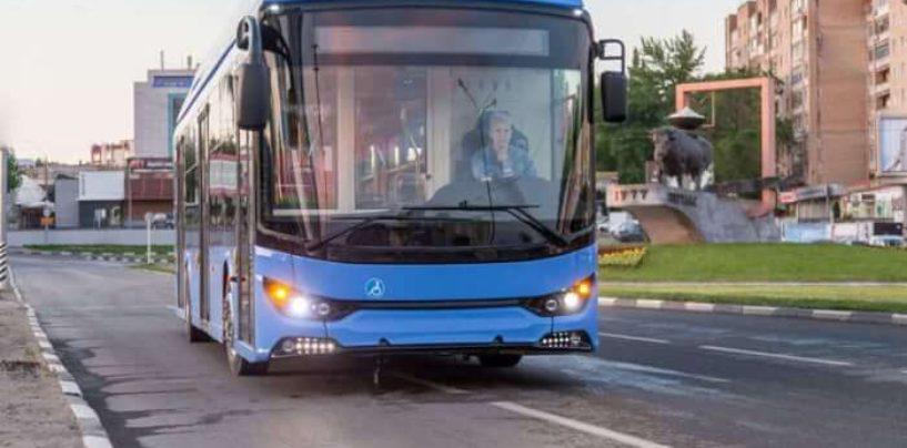 TROLZA проводит испытания нового электробуса