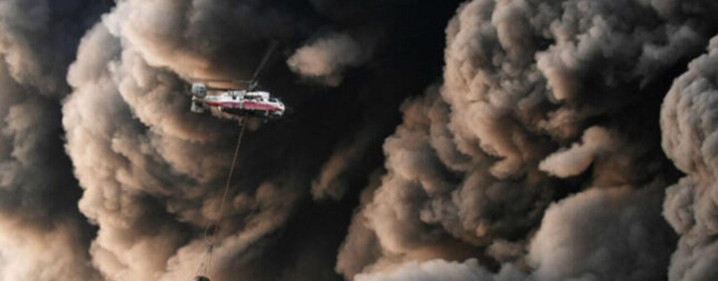 Лесной пожар под Владимиром охватил 400 га