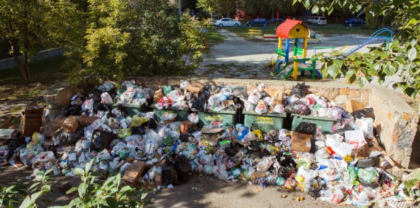 Власти Челябинска ввели режим ЧС из-за проблем с вывозом бытового мусора