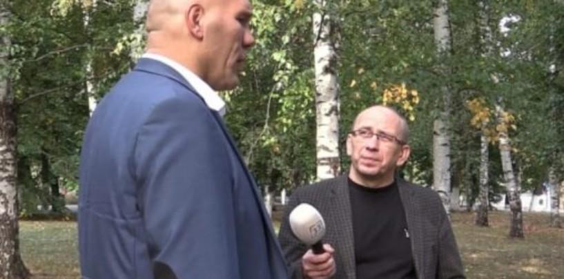 Знаменитый боксер Николай Валуев о Владимире и о губернаторских выборах: «Орлова — боец»