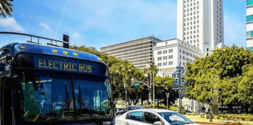 Весь общественный транспорт Лос-Анджелеса будет электрическим