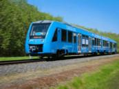 Первый в мире водородный поезд начал перевозить пассажиров