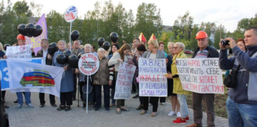 Оборонщики Северодвинска вышли на митинги против новой системы обращения с отходами