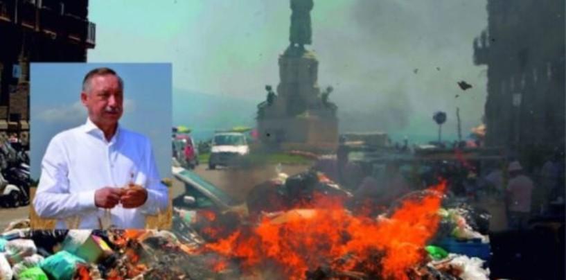 Новому питерскому губернатору Беглову грозит мусорный коллапс