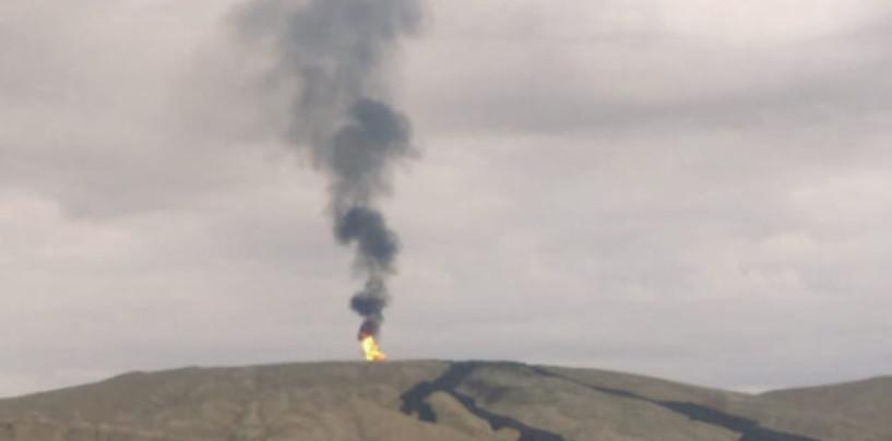 Проснулся второй по размерам в мире грязевой вулкан