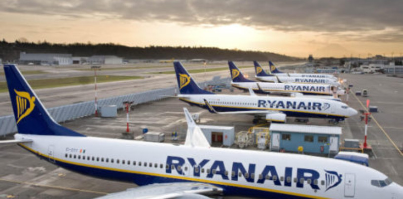 Лоукостер Ryanair откажется от пластика на борту к 2023 году