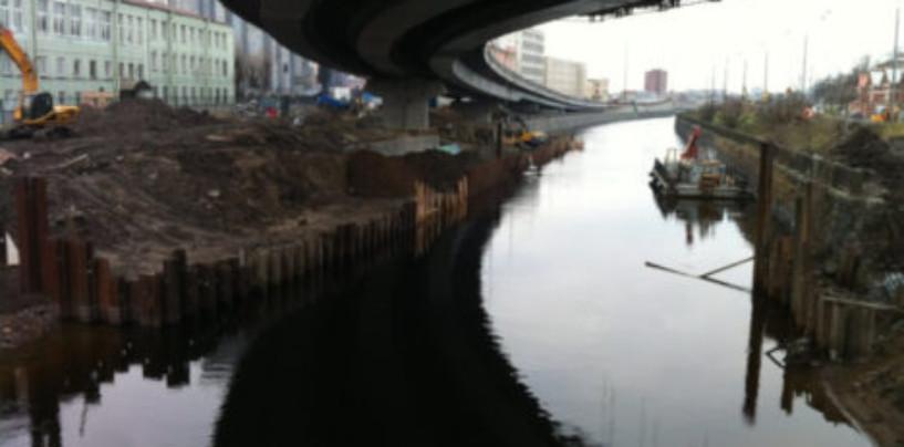 Росприроднадзор ведет проверку по факту загрязнения Обводного канала