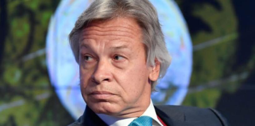 Сенатор Пушков ответил на призыв отправить флот НАТО в Черное море