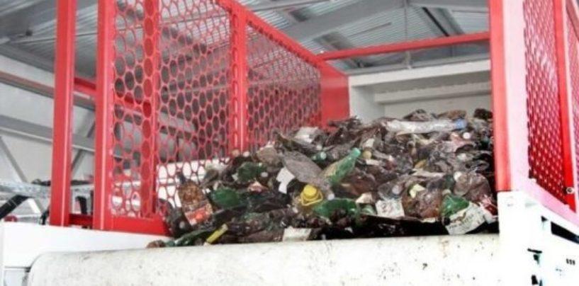 В Кургане запущена линия для переработки пластиковых бутылок