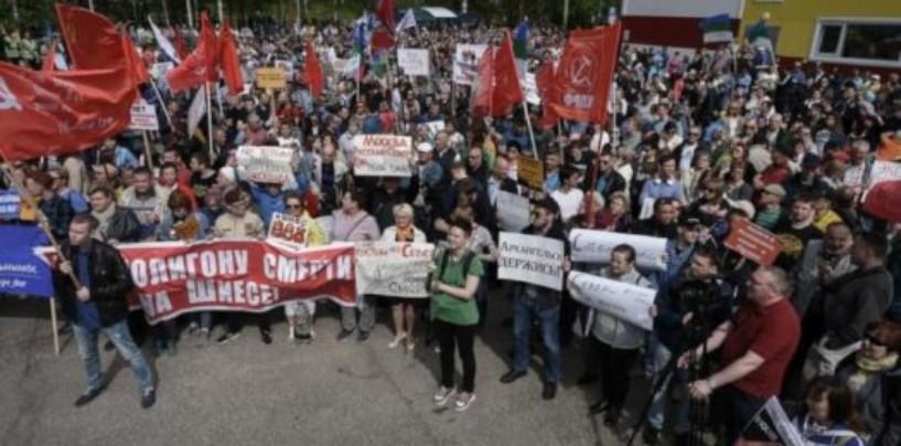 Протесты в Архангельске мешают решать мусорную проблему