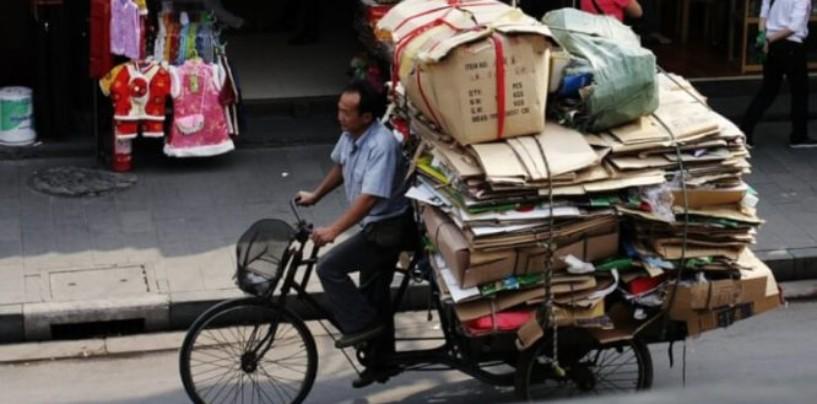 Китайский бизнес процветает на раздельном сборе мусора