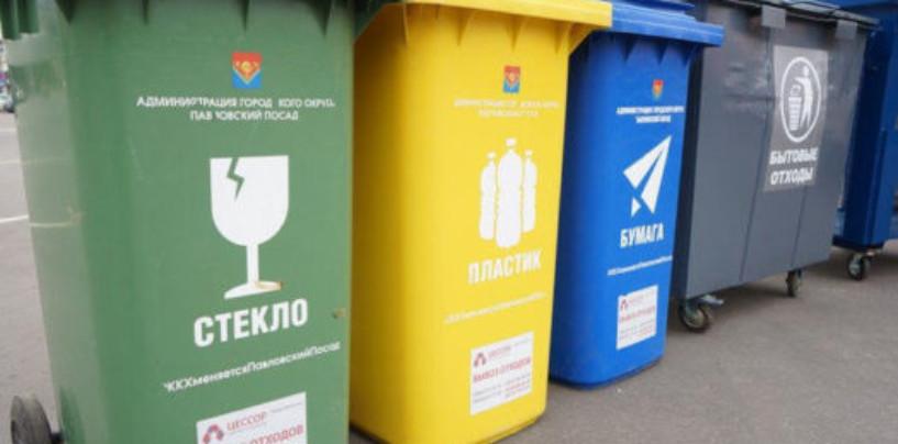 Раздельный сбор мусора в Подмосковье позволил увеличить долю переработки с 9% до 20%
