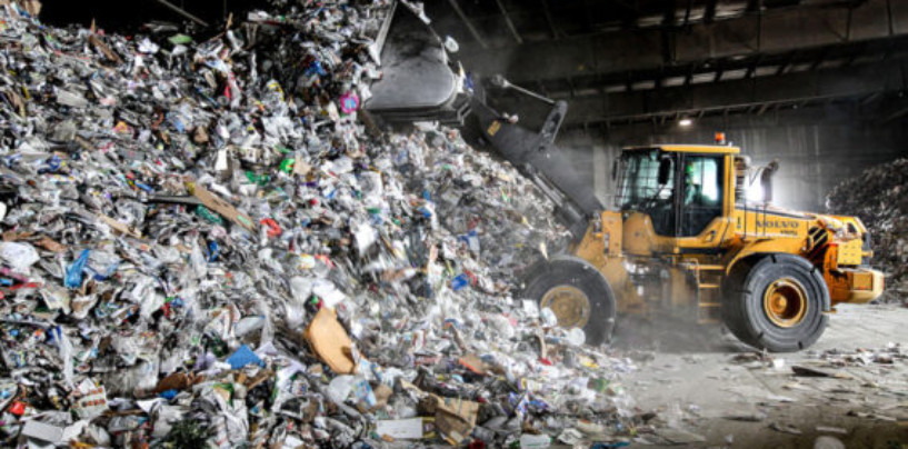 Россия на треть увеличила ввоз пластикового мусора из-за границы